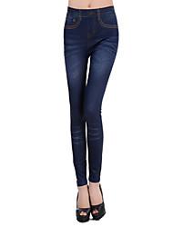 Imitez Cowboy Legging bleu (Hip :90-104cm Longueur: 105cm)