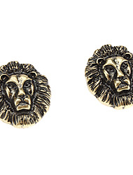 Löwenkopf Ohrringen
