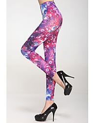 Multi-couleur Planètes Legging Universal (Taille: 58-79cm, hanche: 90-104cm, Longueur: 95cm)