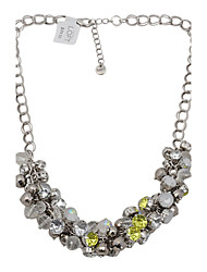 Luxurious Beaded Bib Necklace