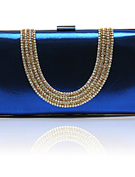 Charming PU with Crystal Wedding/Special Occasion Evening Handbag/Clutches(More Colors)