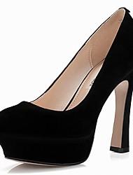 Compact daim talon aiguille Pompes Party \ chaussures de soirée (plus de couleurs)
