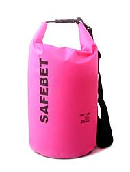 20 L Waterproof Dry Bag Voor Buiten Geel / Rood / Zwart / Blauw / Oranje / Diverse Kleuren Nylon / polycarbonaat
