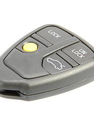 4-Button Remote Key Shell for Volvo AML030761