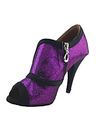 Customized Women's Sparkling Glitter Latin / Ballroom Women's Dance Shoes