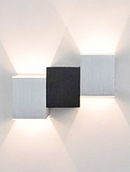 AC 85-265 2 Led Integrado Moderno/Contemporâneo Pintura Característica for LED Estilo Mini Lâmpada Incluída,Luz Ambiente Luz de parede