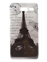 Torre Eiffel Padrão Hard Case para Moto RAZR XT890 I