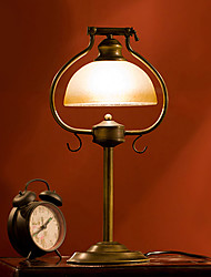 Western-Style Wrought Iron Table Lamps Bedside Lamp Bedroom Work Lamp