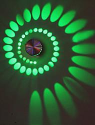 AC 110-130 AC 220-240 3 Led Integrado Moderno/Contemporâneo Galvanizar Característica for LED Lâmpada Incluída,Luz Ambiente Luz de parede