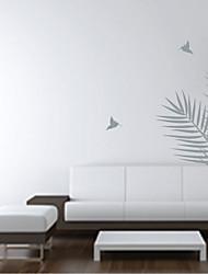 Feuilles de palmier et les oiseaux Wall Sticker
