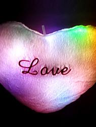 Símbolo do Coração Iluminado Pillow
