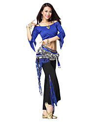 Dancewear Viscose with Lace Belly Dance Outfit For Ladies