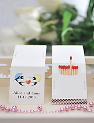 Wedding Décor Personalized Matchbooks - Loving You (Set of 50)