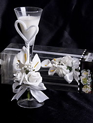 Floral Theme Candle Favors Piece/Set Candles White