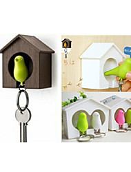 Couple Sparrow Tree House with Key Chain