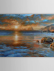 Hand Painted Oil Painting Landscape Sea with Stretched Frame 1306-LS0334