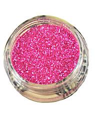 фиолетовый блеск пыли порошок ногтей отзыв украшения, пентаграмма лазерного хлопья i9002-021 (tslr0928-22)