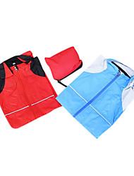 Polyamide lang-Koker Fietsen Wind Jacket (rood, blauw)