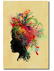 Printed Canvas Art People Wild Child 2 by Budi Satria Kwan with Stretched Frame