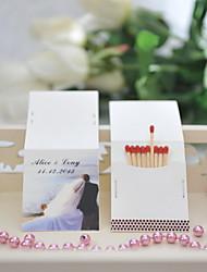 Картон Свадебные украшения-50Шт./набор Весна Лето Персонализированный Спички в комплект не входят.