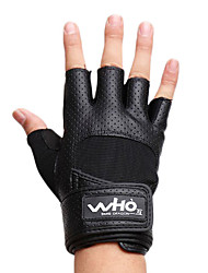 Men's Extended Bracers Sports Gloves(Black)