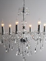 candelabros de cristal característica vela con 6 luces