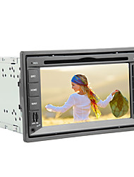 6.2-inch 2 Din TFT Screen In-Dash Car DVD Player With Navigation-Read GPS,iPod-Input,Bluetooth,RDS,TV