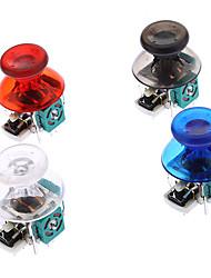Repuesto 3D Cap joystick Rocker Shell prolifera rápidamente los casquillos para Xbox 360 Wireless Controller (Chip Verde)
