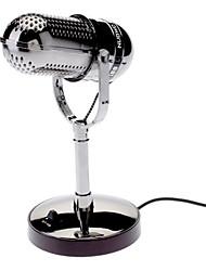 3,5 milímetros suporte Delicate Sozinho omnidirecional microfone condensador Perfeito para Vedio Meeting (com pilhas)