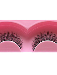 1 Pair Black False Eyelashes