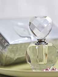 Gifts Bridesmaid Gift Pretty Heart Design Crystal Perfume Bottle