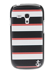 Simple Stripe Pattern Hard Case for Samsung Galaxy S3 mini I8190