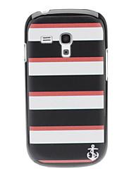 Einfache Streifen-Muster Hülle für das Samsung Galaxy S3 I8190 mini