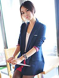 Women's Blue/Red Blazer , Casual