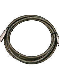 DT - (DFS380-3H) 3 Meters Guitar Cable with Plastic Plug (Soft Flexible Low attenuation Micro-bubbles)