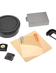 LP-E8 Battery+Body Lens Cap+LCD Hot Shoe Cover Eyecup for Canon EOS Rebel T2i