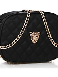 Leopardo Button Crossbody Bag