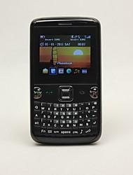 Teléfono Móvil Dual SIM Cell con teclado QWERTY (TV, FM)