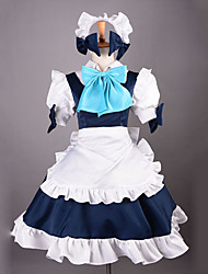 Inspired by TouHou Project Sakuya Izayoi Video Game Cosplay Costumes Cosplay Suits Patchwork Dress