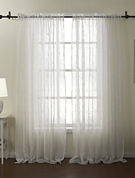 Country Grape Embrodiery Sheer Curtains