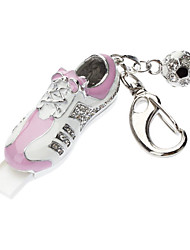 Bijoux en métal 16GB chaussures et Football style clé USB