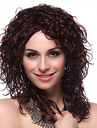 Capless High Quality Synthetic Long Curly Hair Wigs