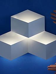 3W Moderne Decor LED-Wandleuchte Metall Cubic Shade Geometric Design