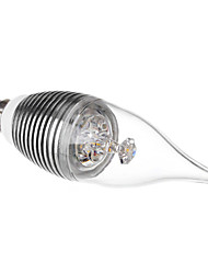 fly e14 3w 240lm 3500K warm wit LED kaars lamp (110-220v)