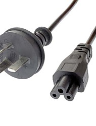 cabo de alimentação AC para laptop au preto (1.2m)