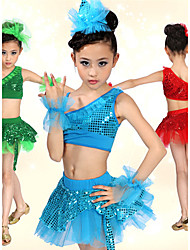 Kids' Dancewear Tutu Ballet Performance Pretty Spandex With Sequins Dance Outfits(More Colors) Kids Dance Costumes