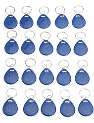 20 Pcs Writeble RFID Keychain Card(Fob Tag EM Format)