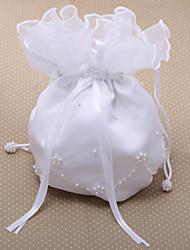 Элегантные Свадебные Деньги сумка с имитацией цветка перлы