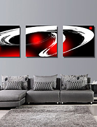 Stretched Canvas Art Abstract Magic Set of 3