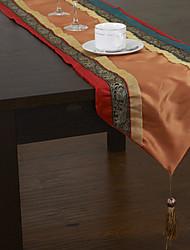 Modèle Tibetan Red & Blue Table Runner